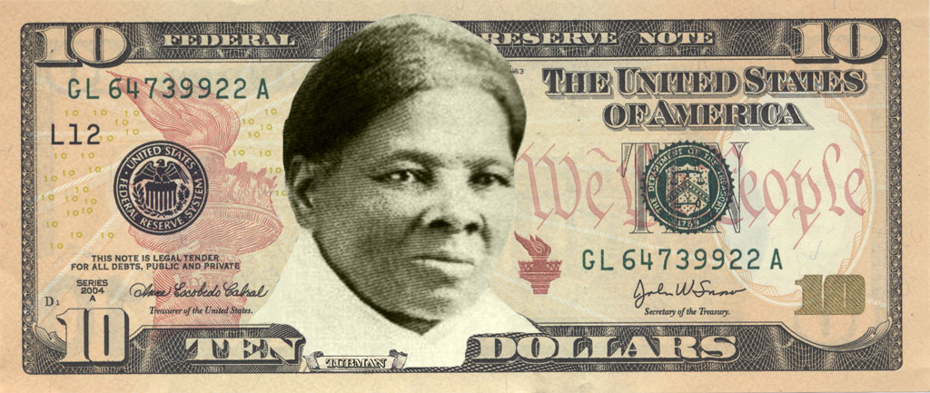 billete 10 dólares Harriet Tubman