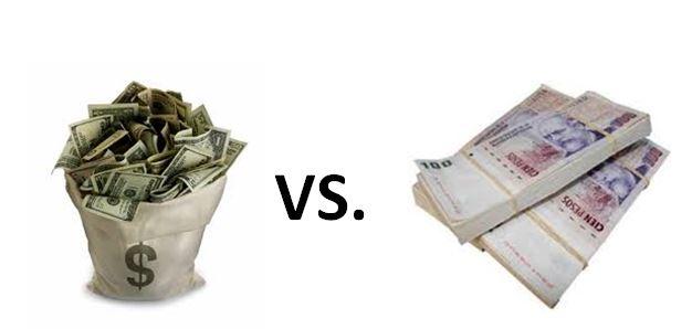 dolar vs pesos