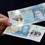 Nuevo billete de 5 libras
