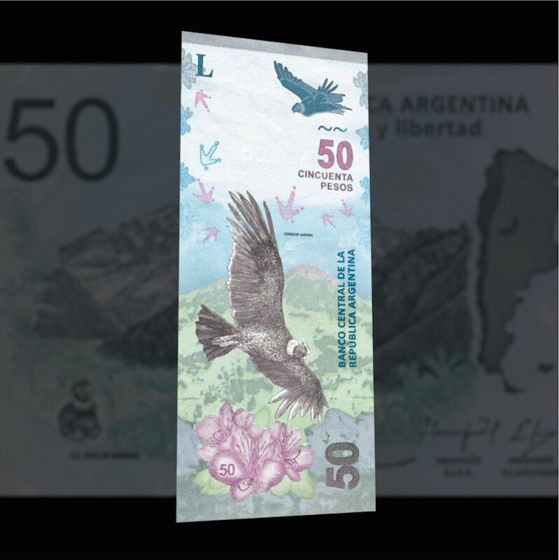 Billete $ 50 Argentina
