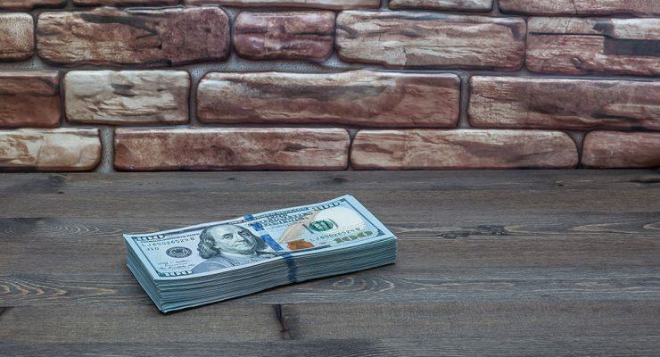 fajo billetes dólares