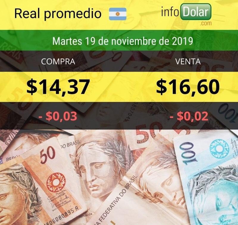 Cotización real 19/11/19