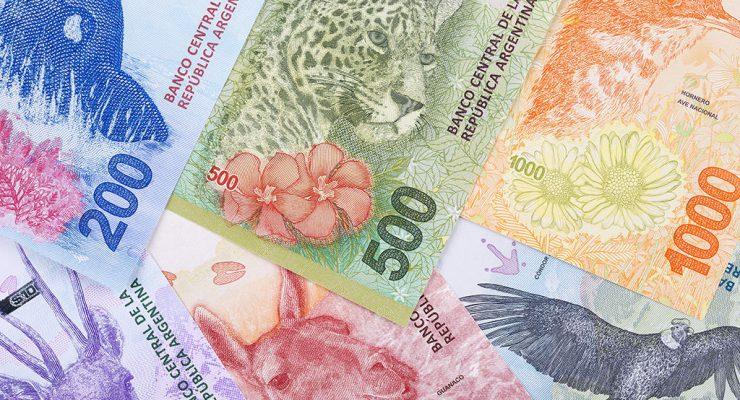 pesos argentinos