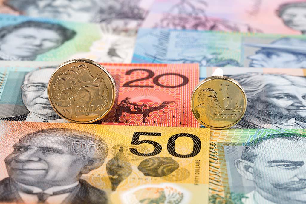 Dólares australianos