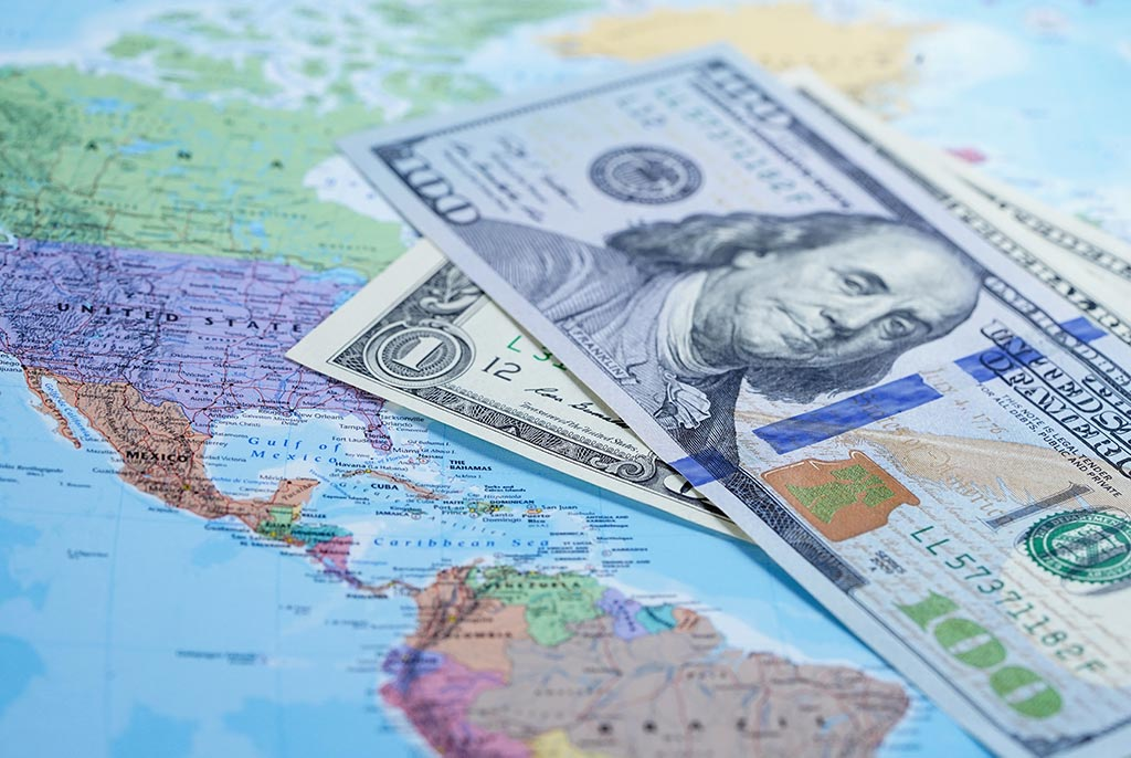 Países con dólar como moneda oficial